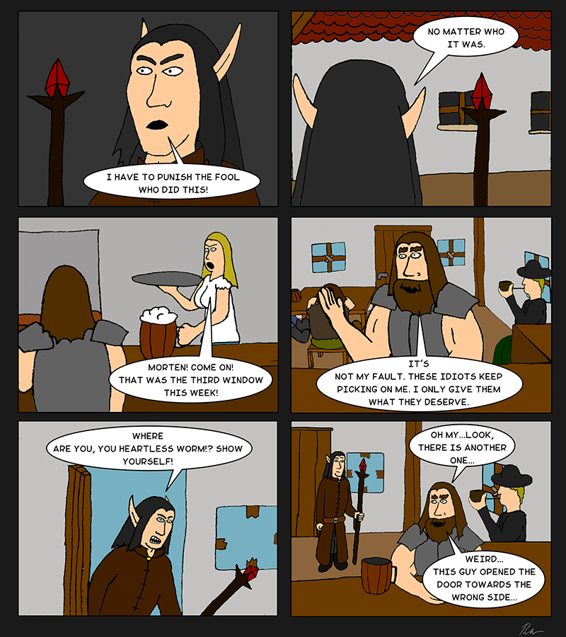 Page 5 – The elf appears