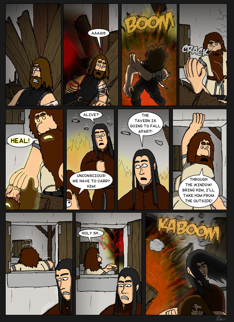 Page 104 – Destroying the tavern