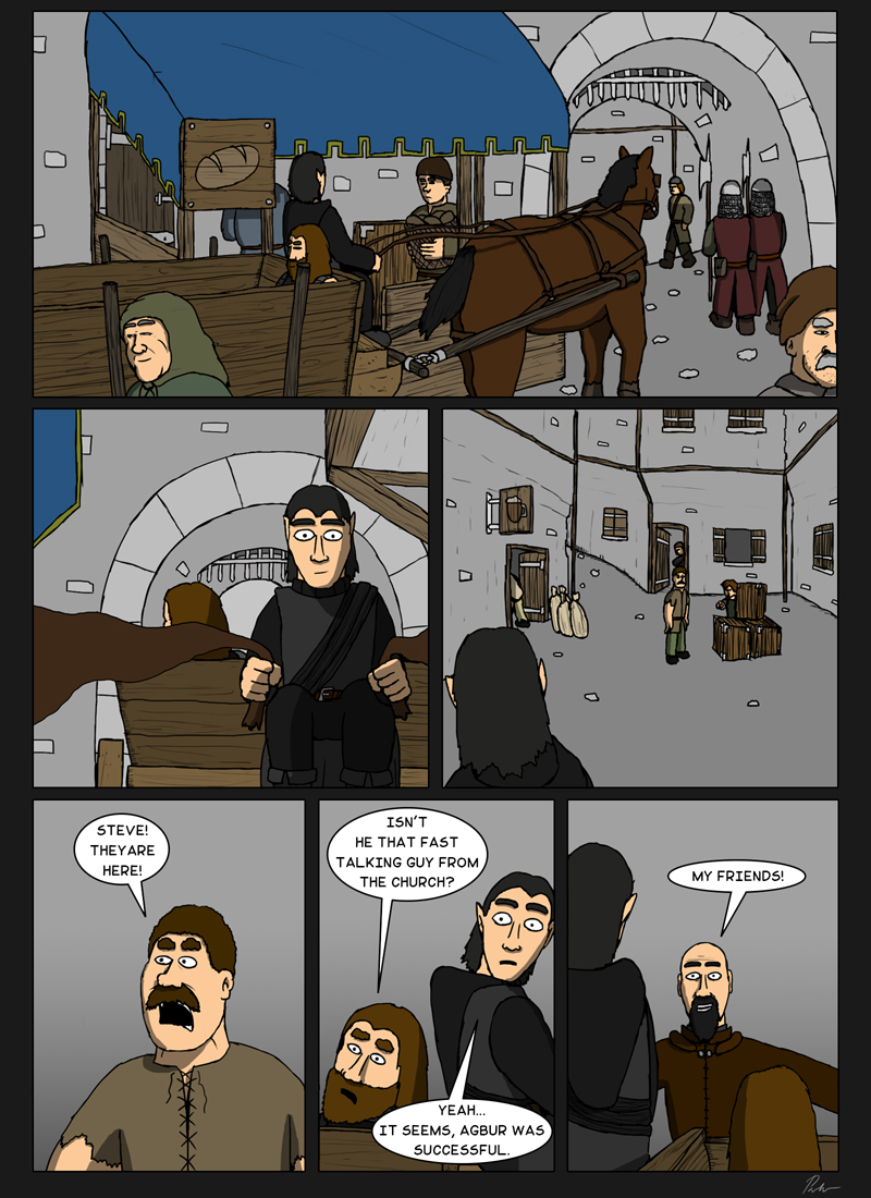 Page 126 – Arriving to the town