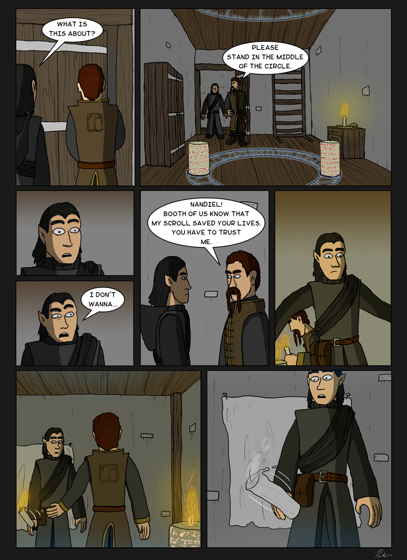 Ch3P22 – Trust the wizard