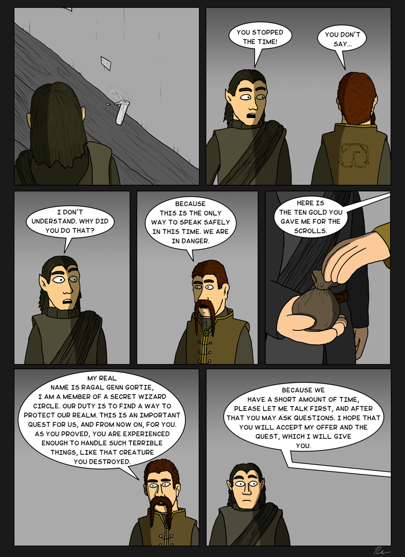 Page 133 – Stopping the time