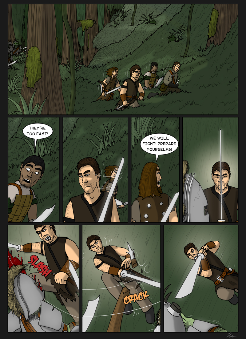 Page 145 – Running from orcs