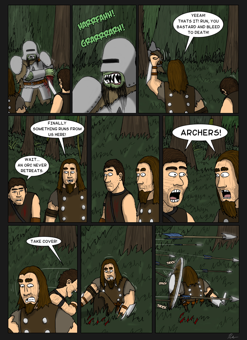 Page 149 – An orc never retreats