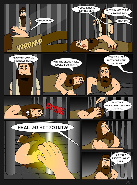 Page 14 – Dwarf priest