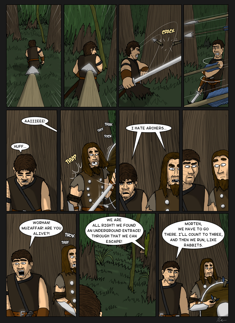 Page 150 – Hating archers together