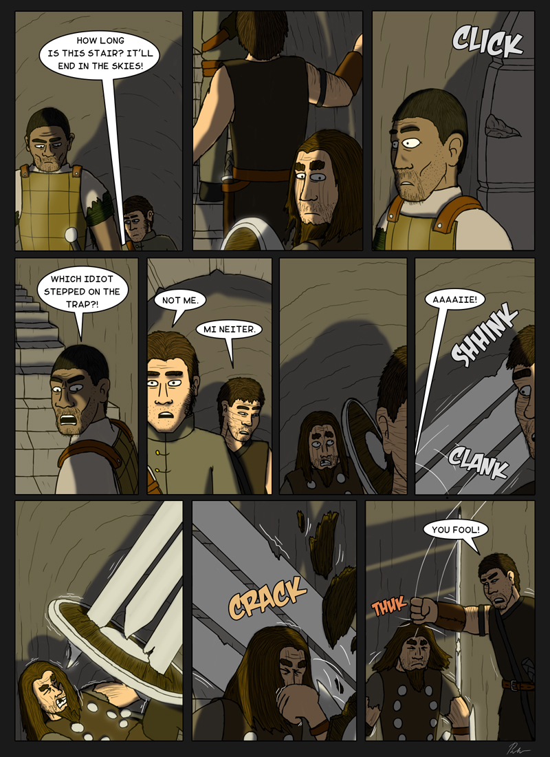 Page 153 – Some fool stepped in the trap