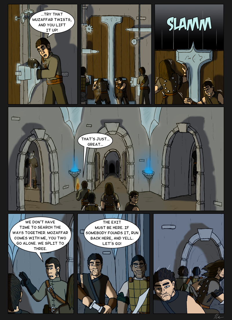 Page 157 – Splitting the team
