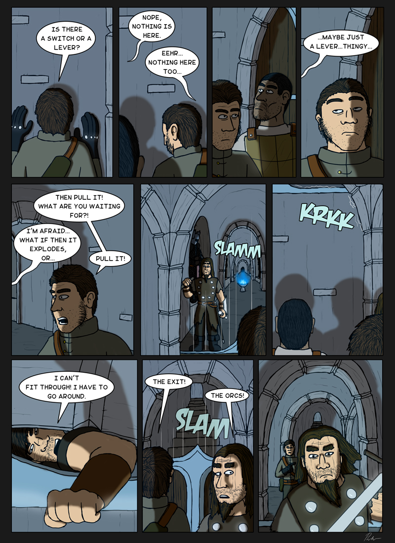 Page 159 – Pulling a lever