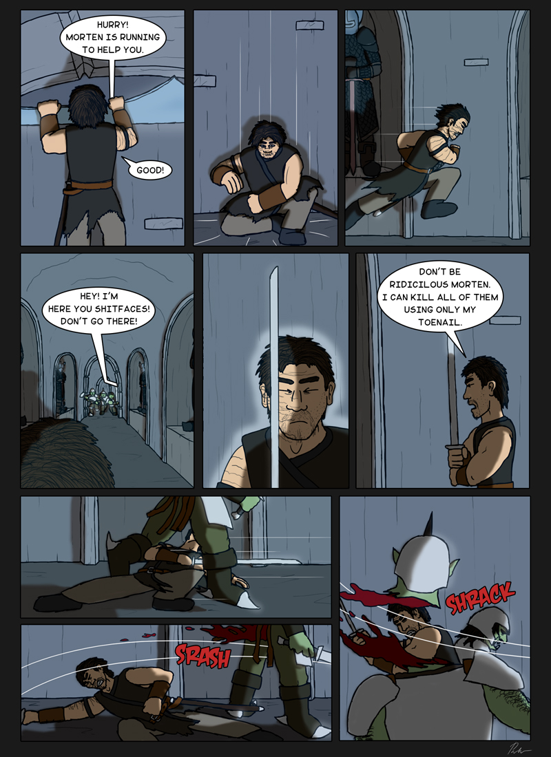 Page 160 – Overpowered warrior