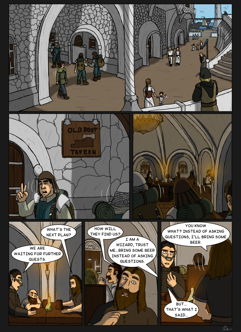 Ch3P61 – Arriving to the port
