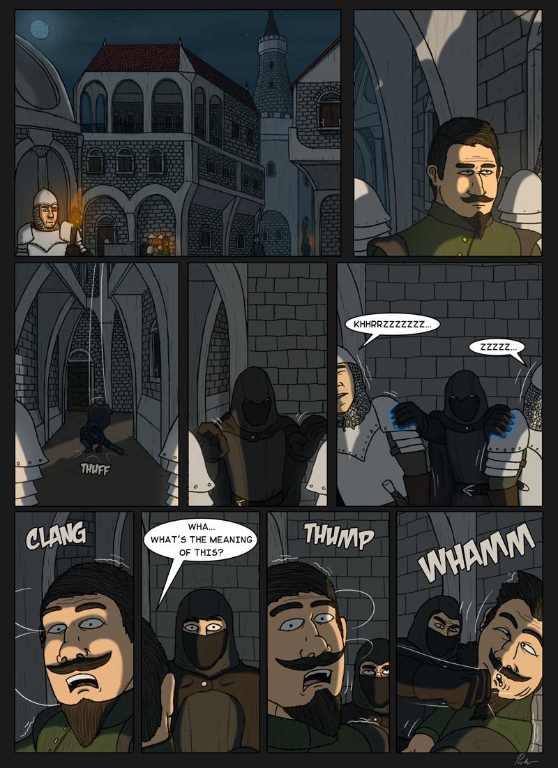 Page 178 – A peaceful night walk
