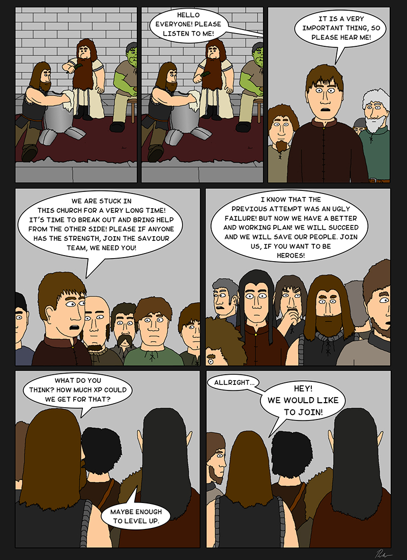 Page 52 – Gathering a team