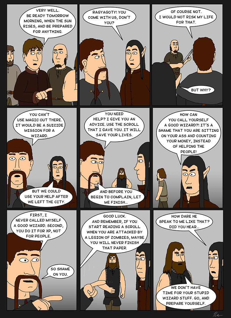 Page 54 – Complaining wizards