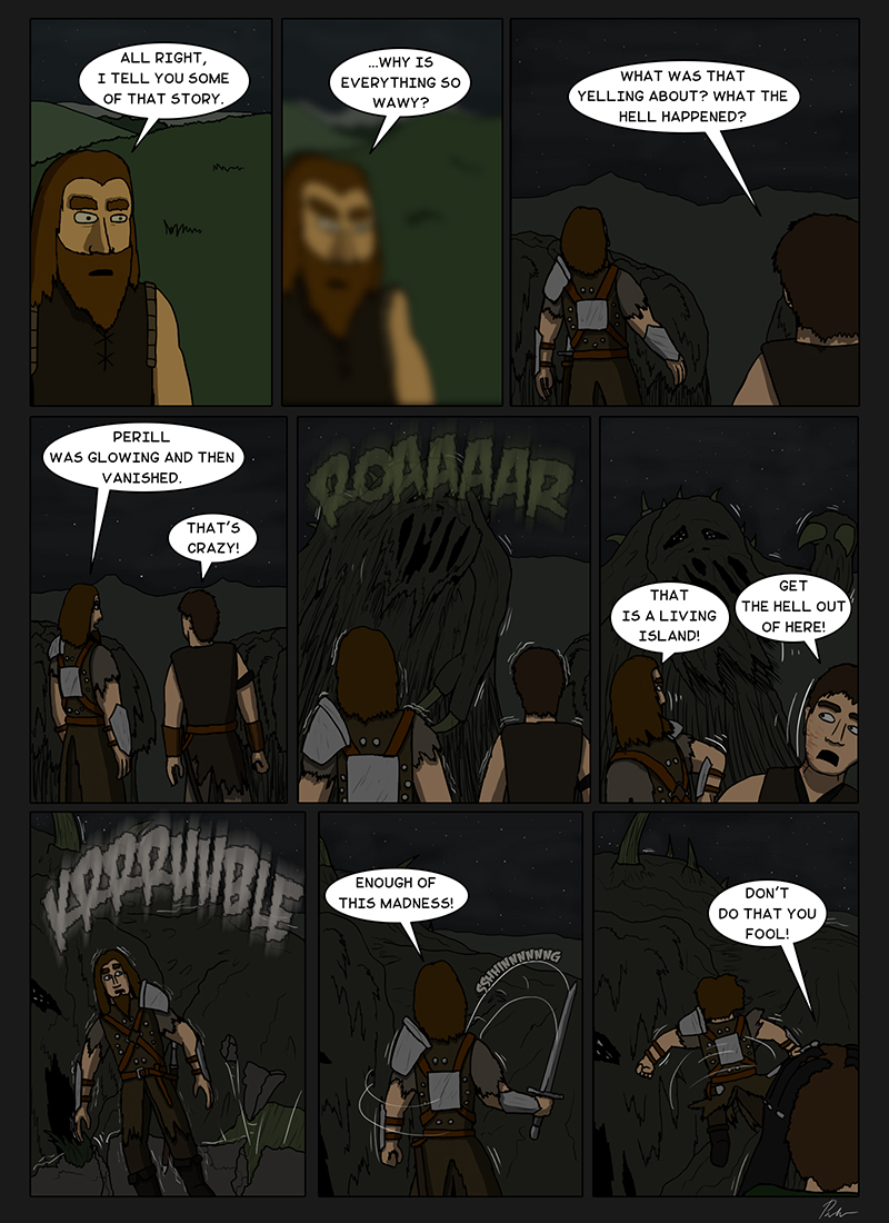 Page 118 – Living island in the Cursed land