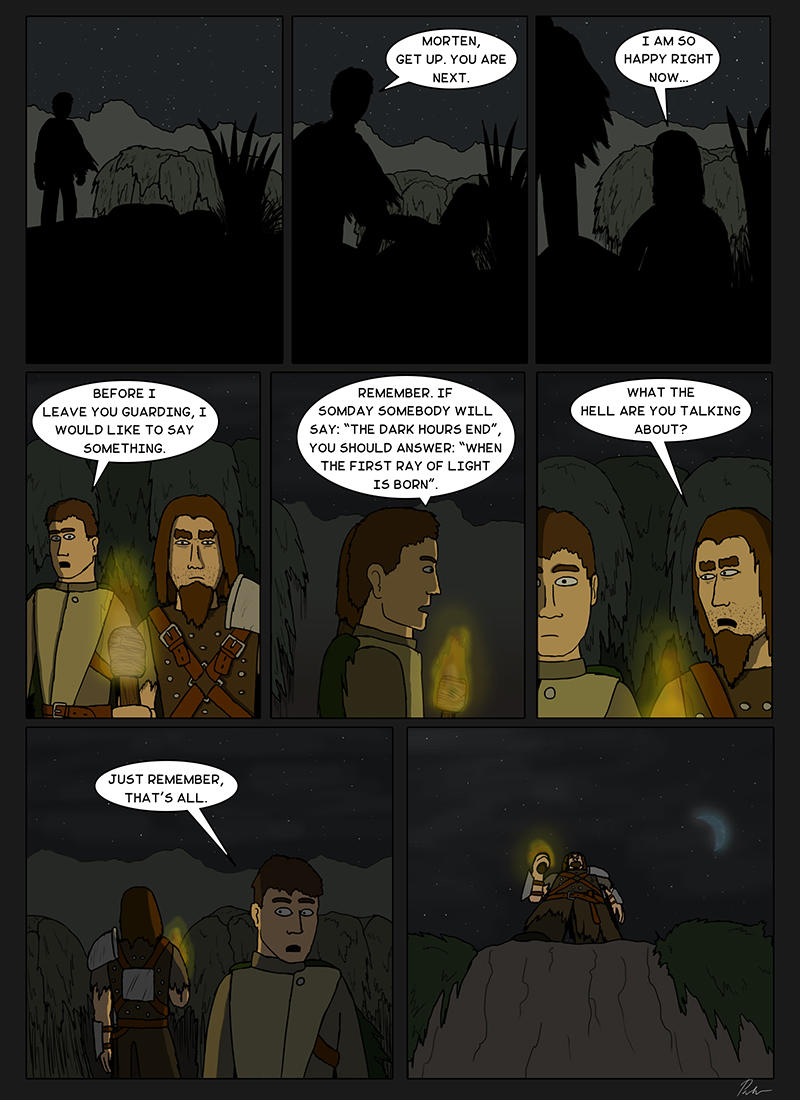 Page 114 – Guarding the night