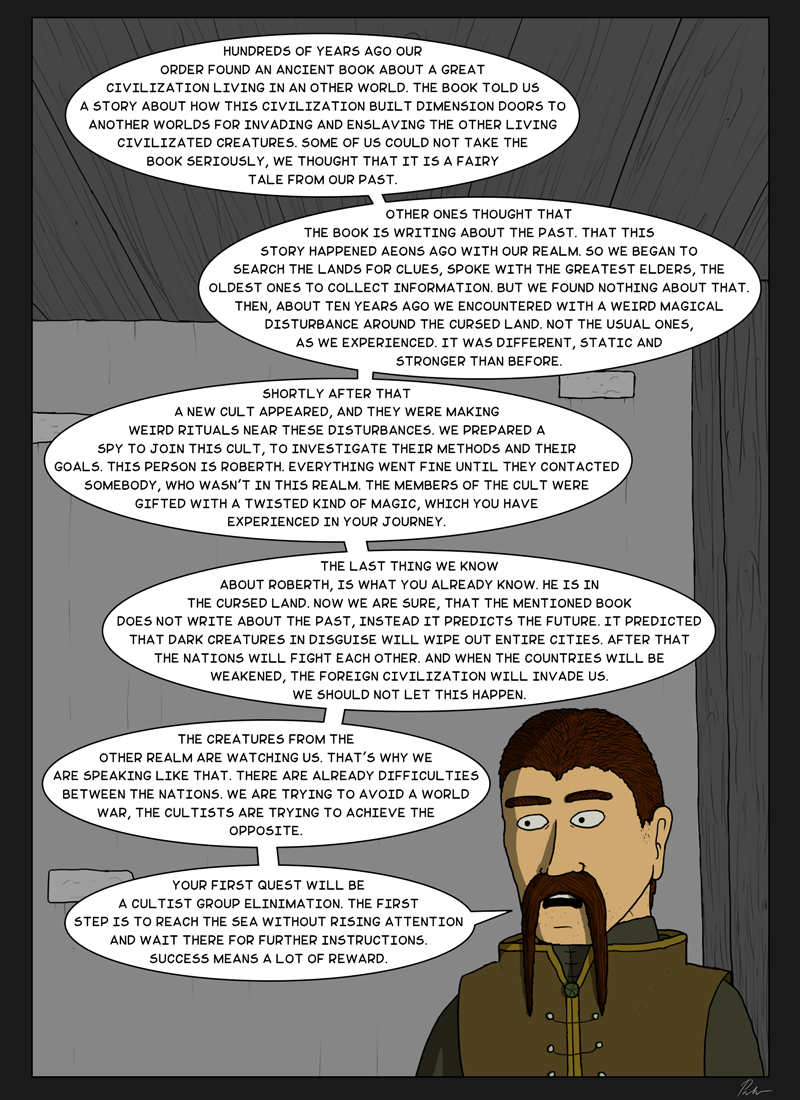 Page 134 – Giving a quest
