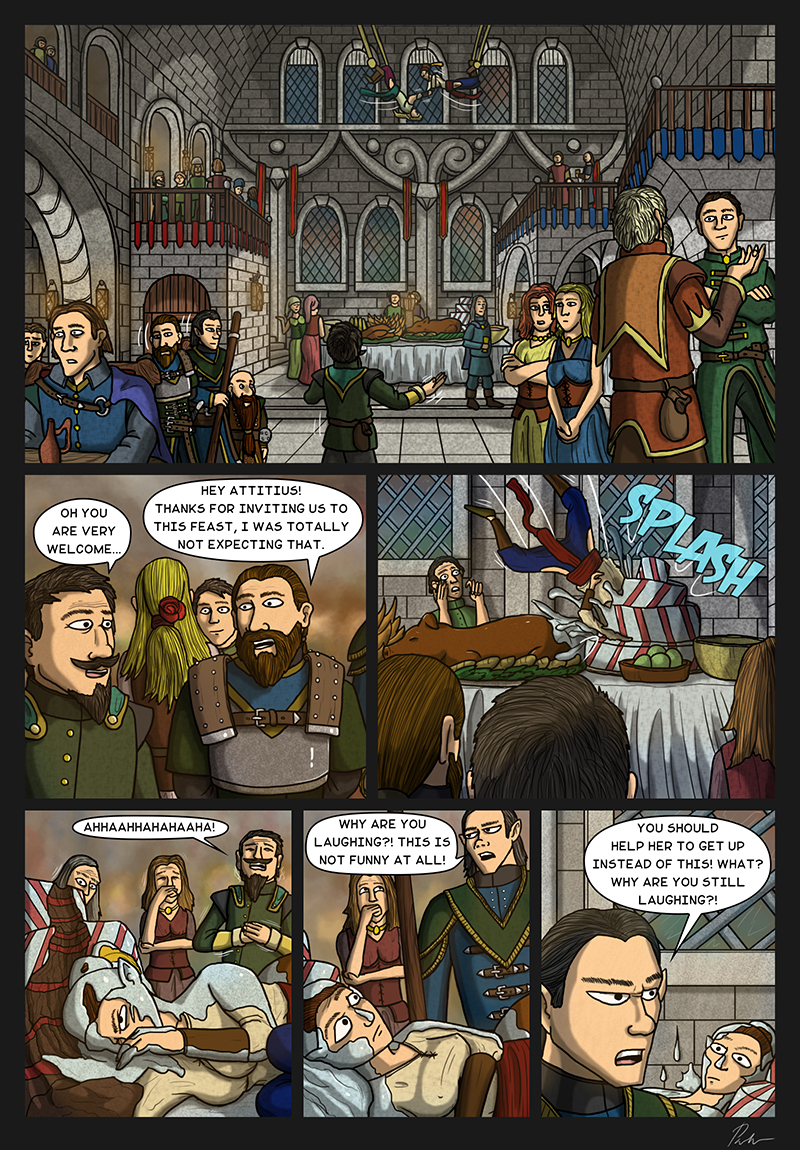 Page 188 – The feast begins
