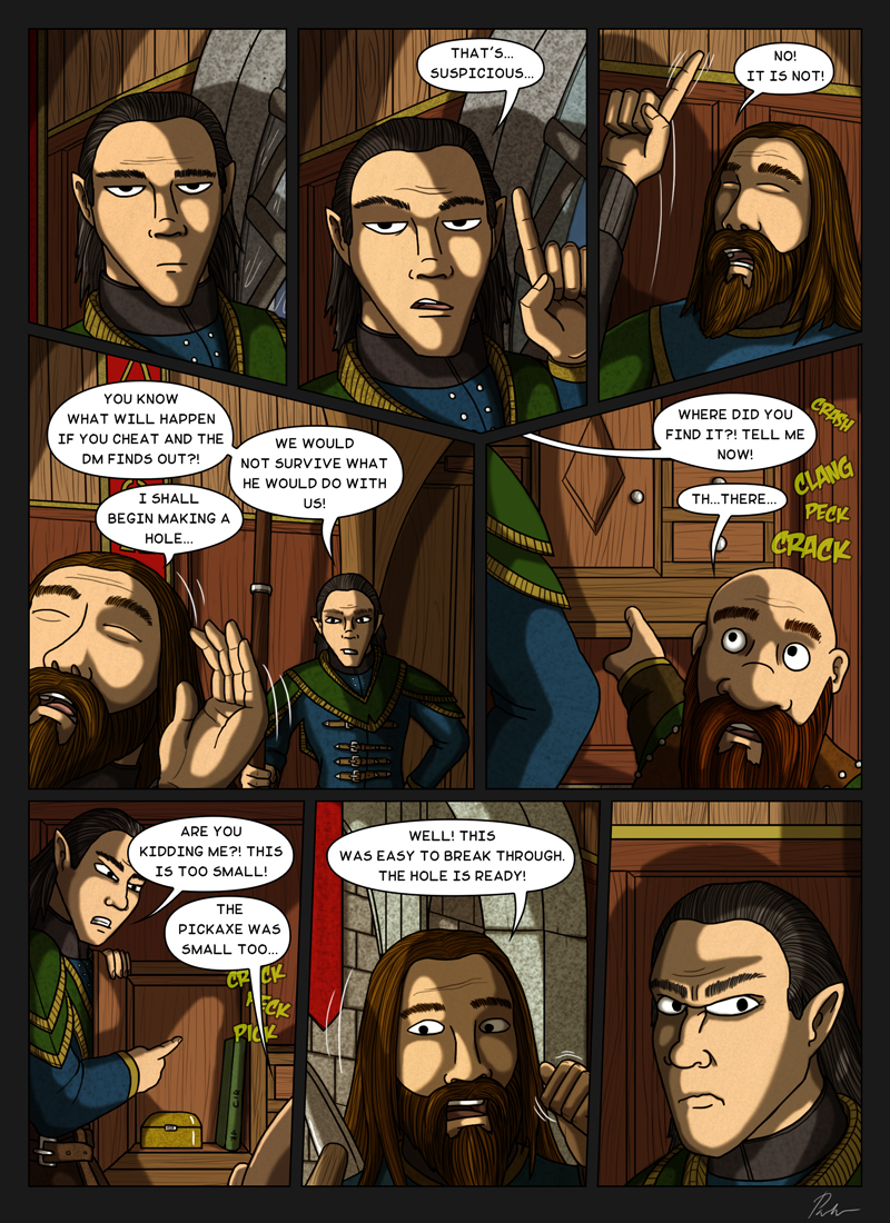 Page 203 – Watchful elf