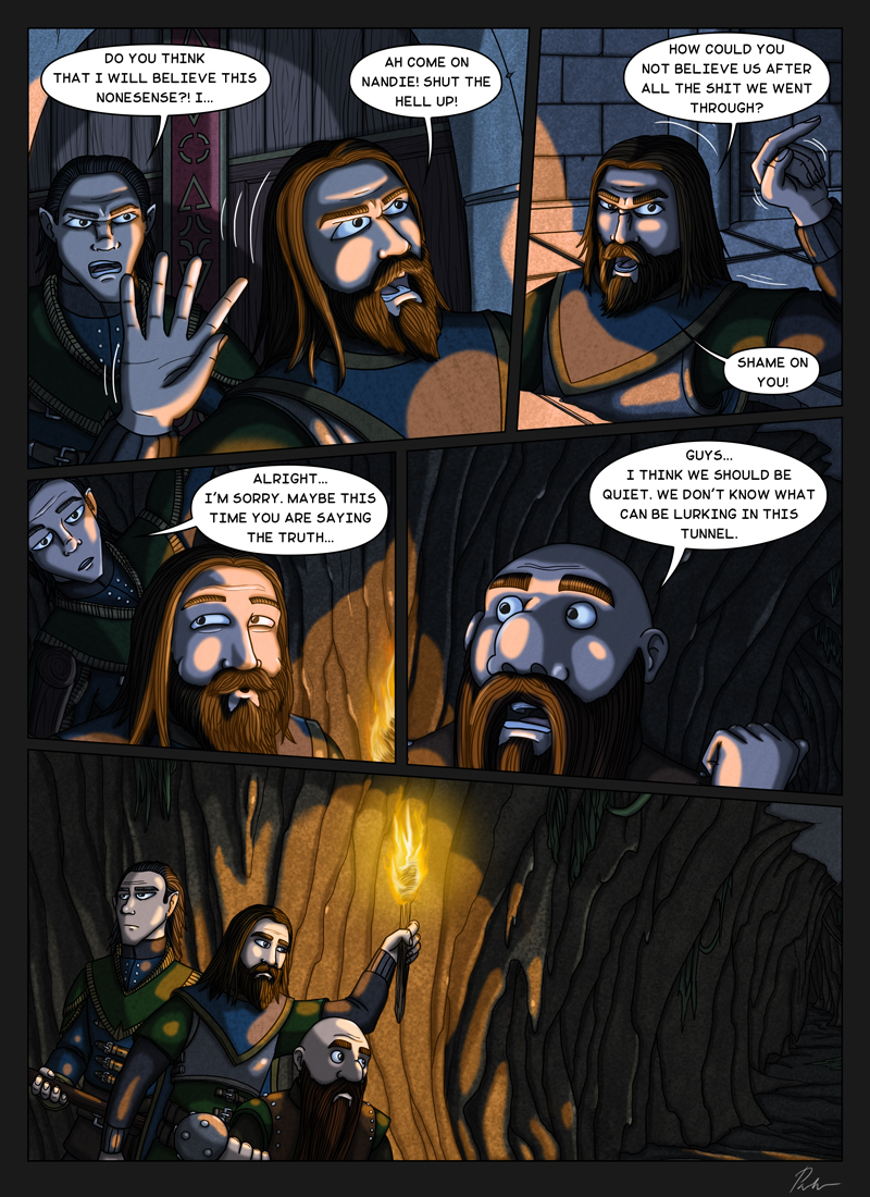 Page 204 – Into darkness