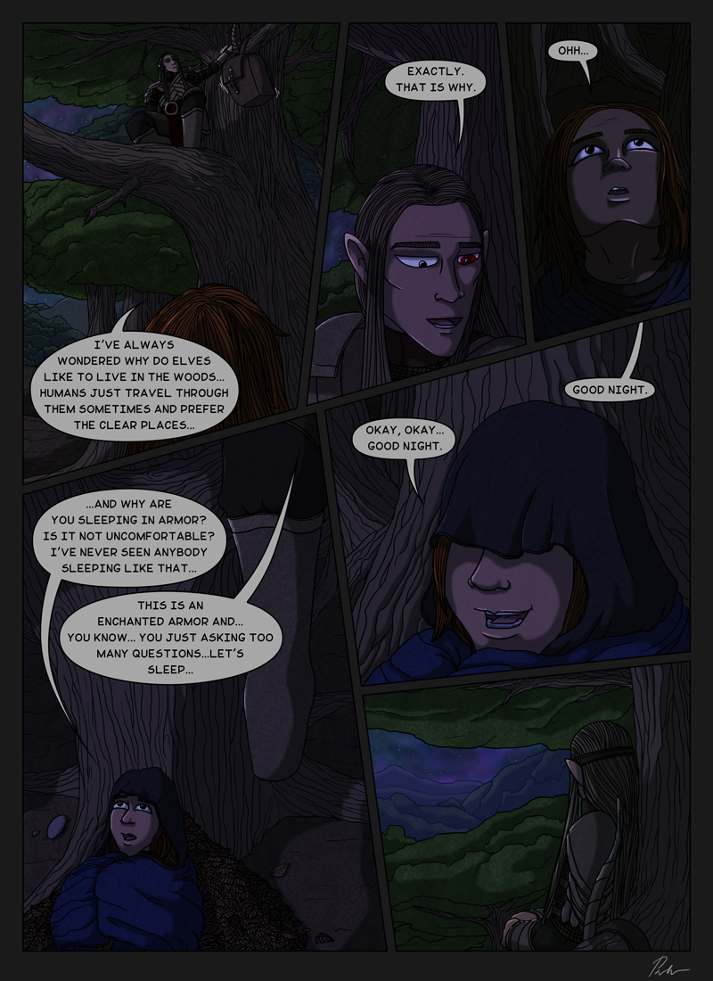 Ch1P29 – Under the trees