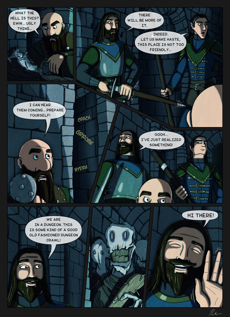 Ch4P25 – Dungeon Crawl