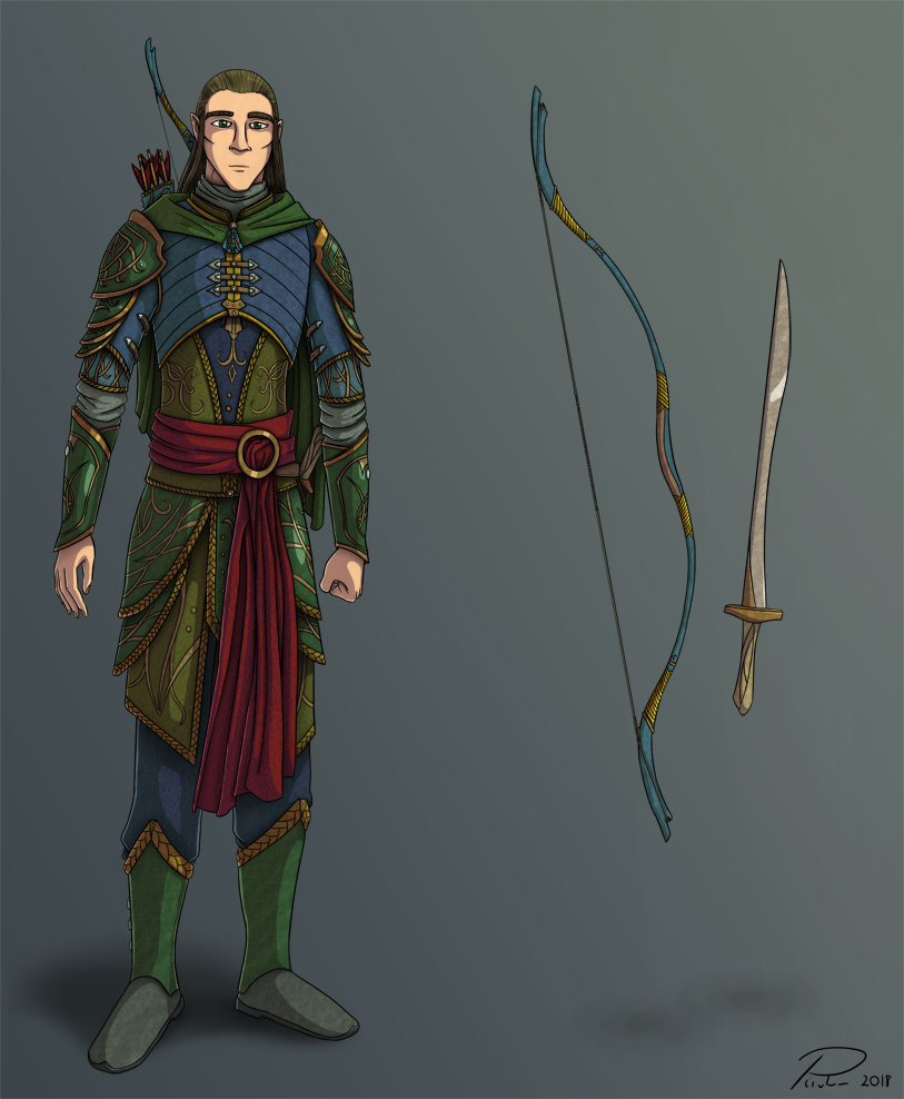 Ghilrond Character Design