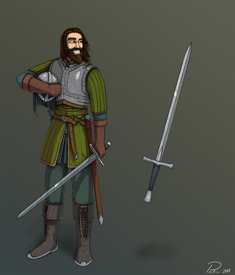 Morten Character Design