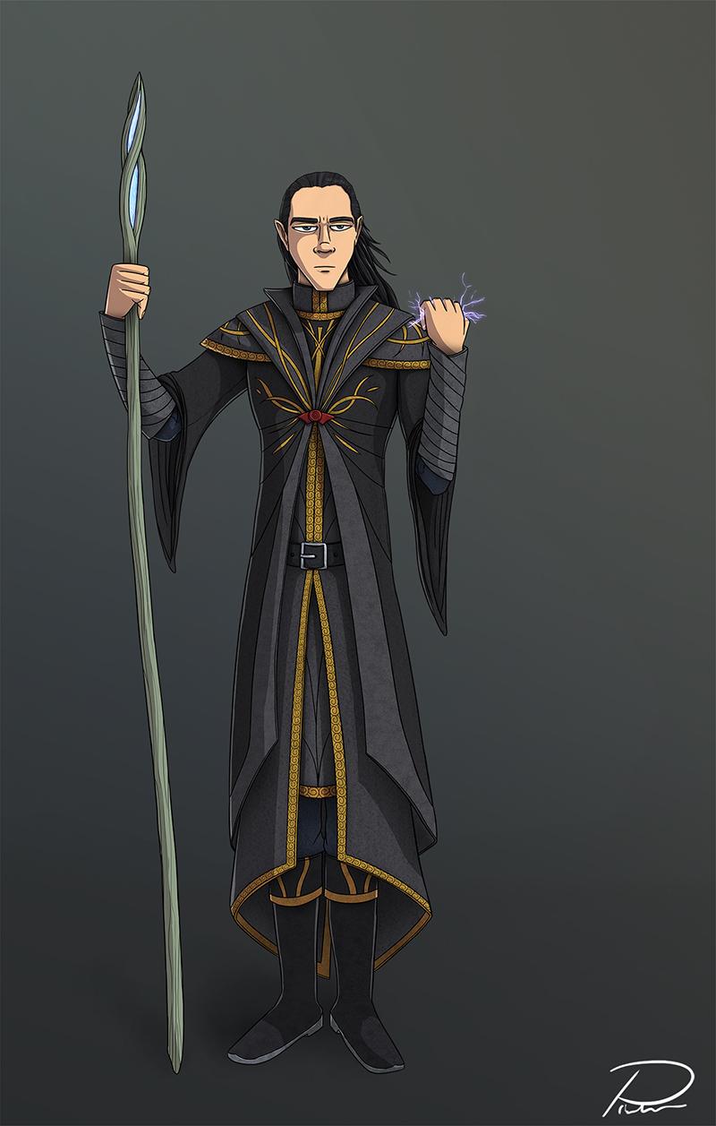 Nandiel Character Design