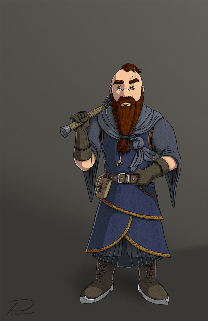Brem Ghdin Character Design