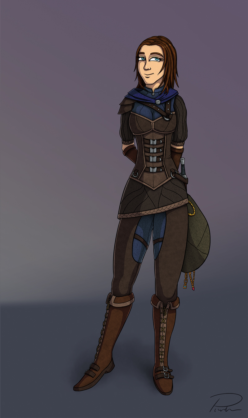 Lyrineth Character Design