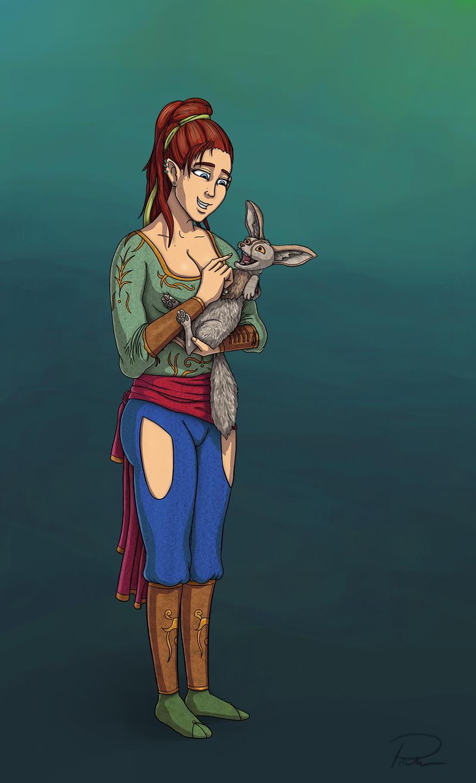 Foxy Half-elf