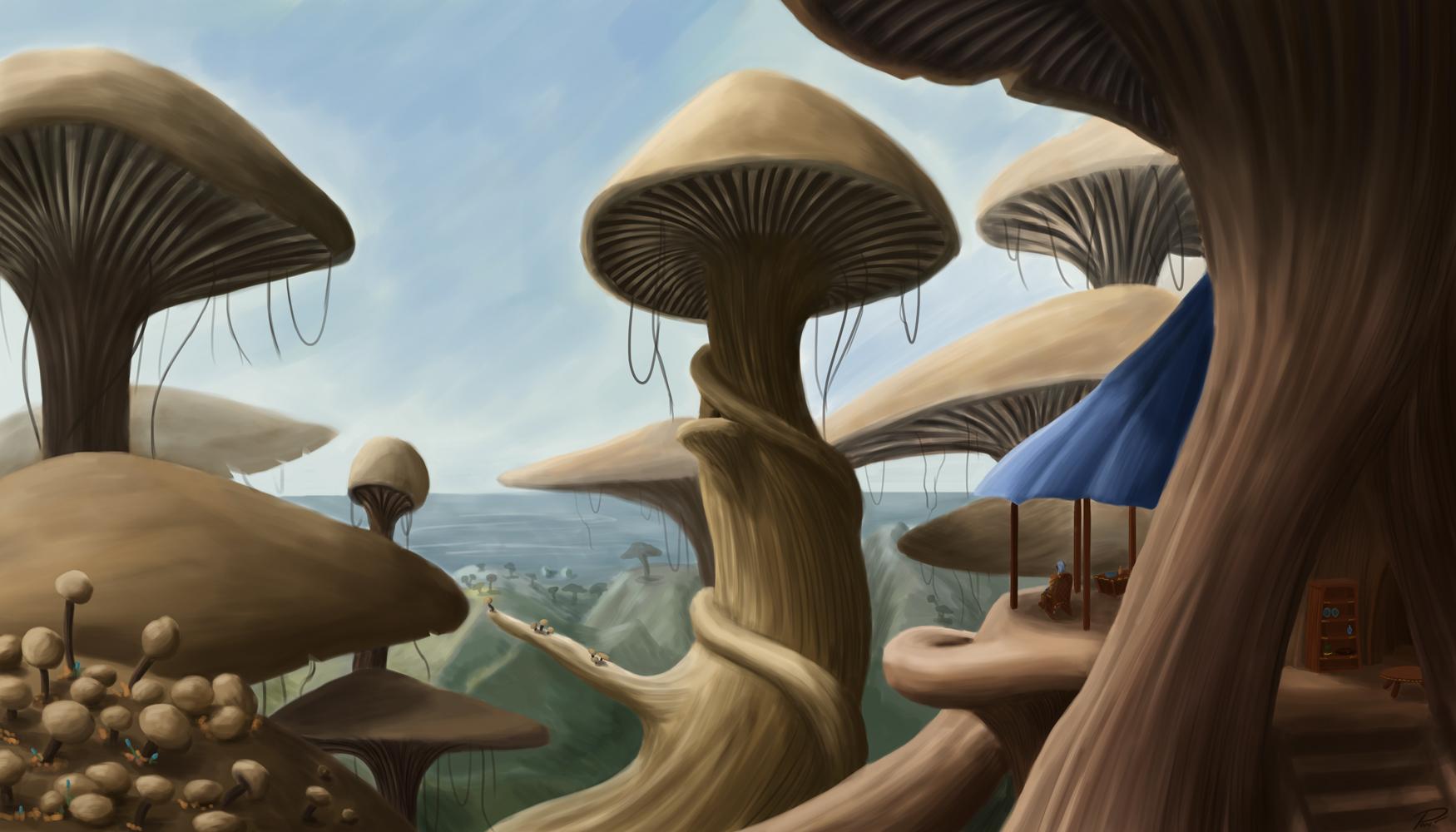 Morrowind – More Mushrooms