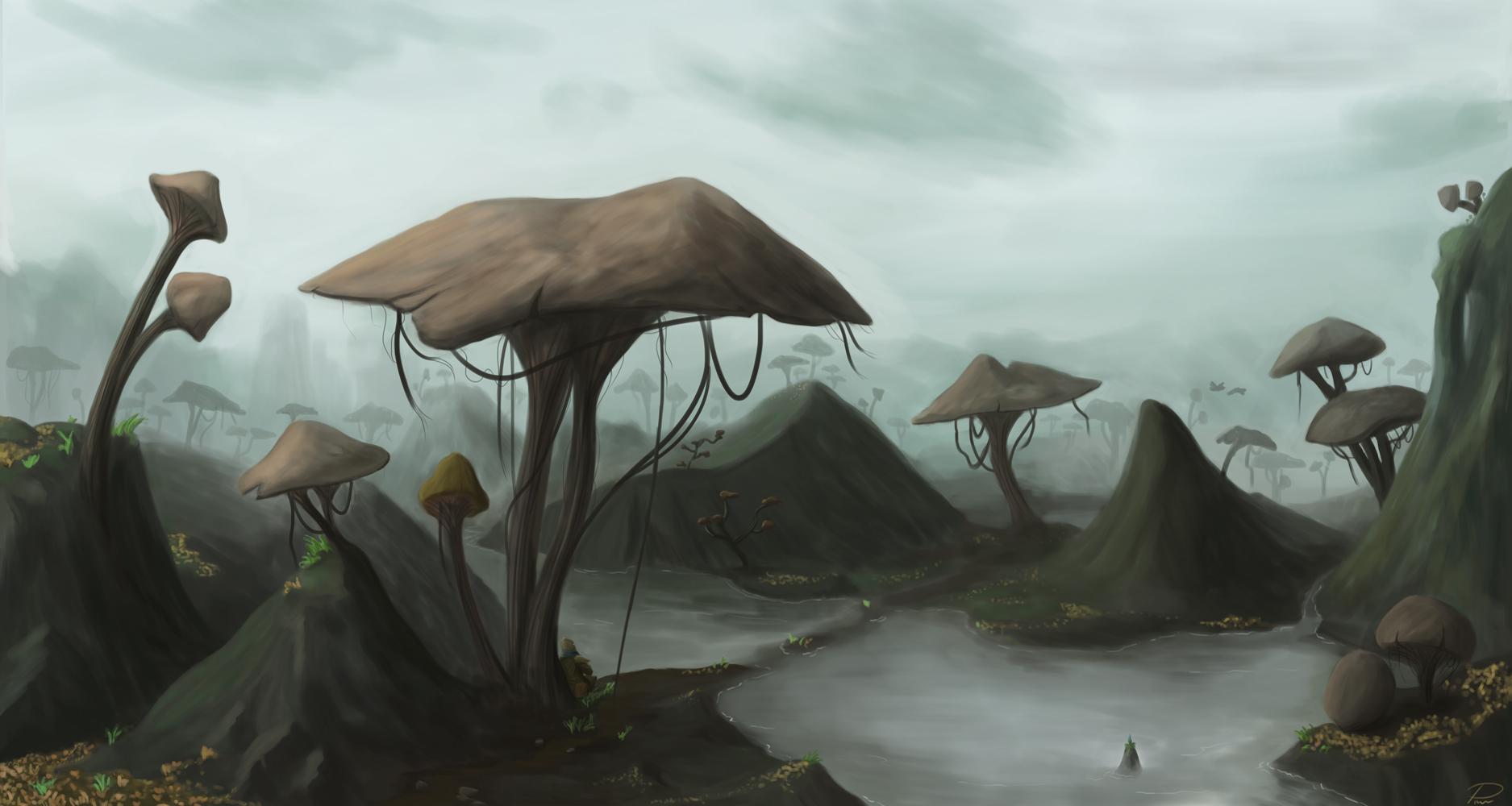 Morrowind – Mushroom