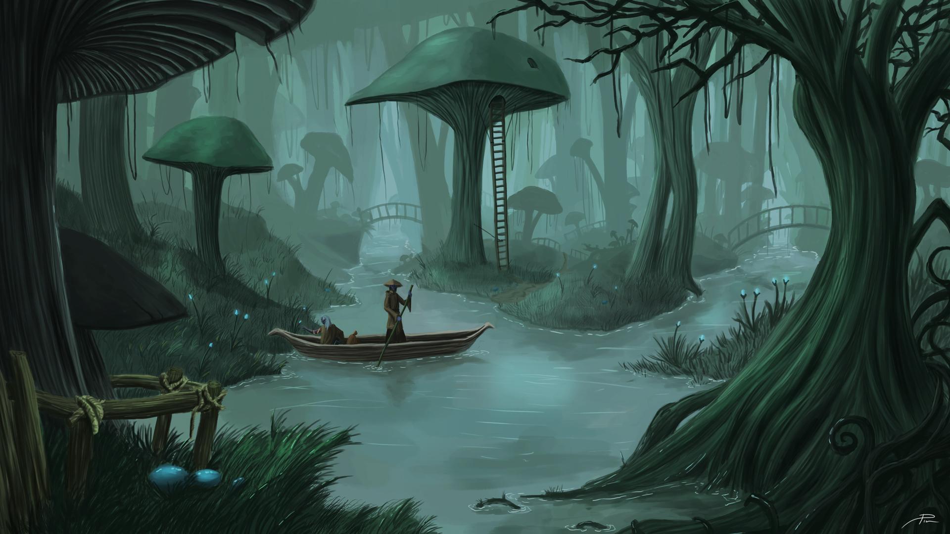 Morrowind – Peaceful waters 2