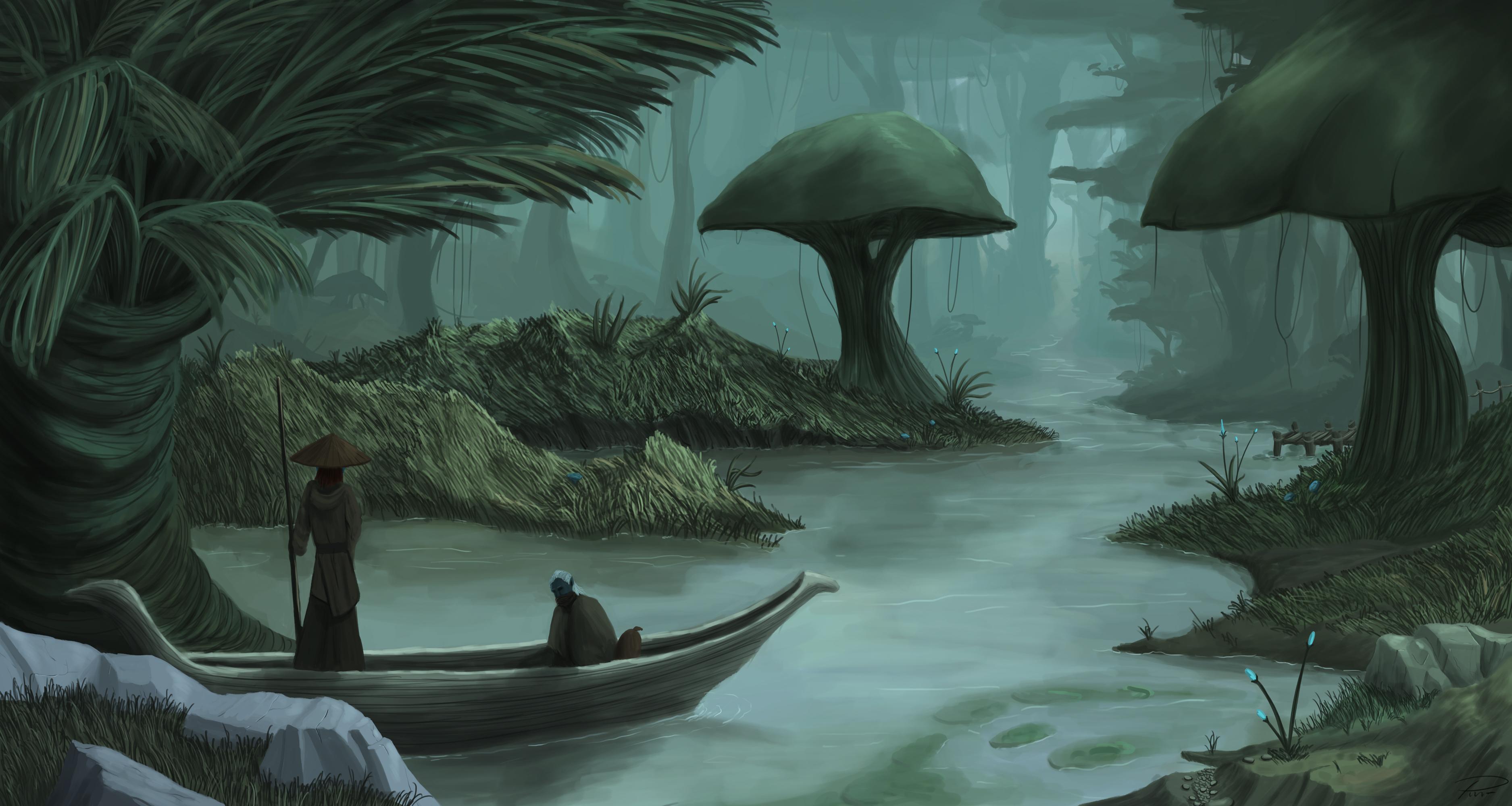 Morrowind – Peaceful waters